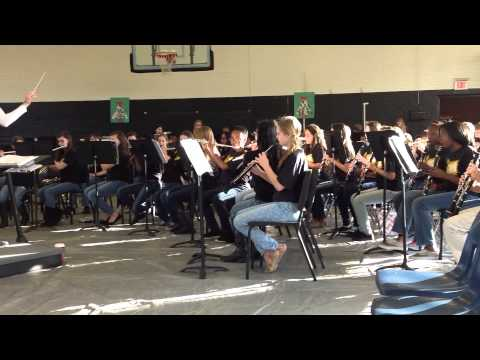 North Augusta Middle School Holiday Concert 2014