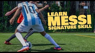 Learn Messi Football skill - World Cup 2018 tutorial