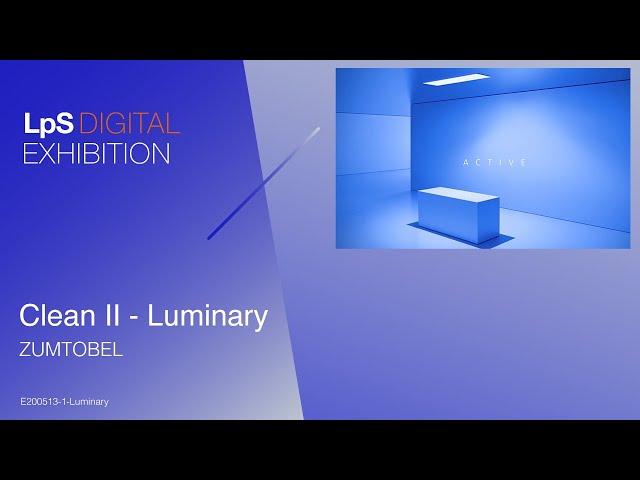 Clean II - Luminary