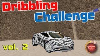 Прохожу красиво карту Dribbling Challenge! | Rocket League