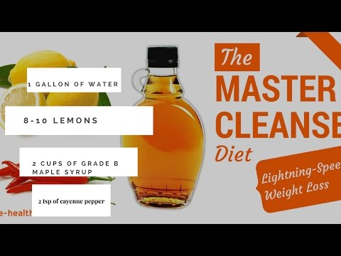 Master Cleanse: Day 14, 1 gallon recipe