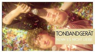 Tonbandgerät feat. Stefanie Heinzmann - Nenn es nicht Liebe (Official Video)
