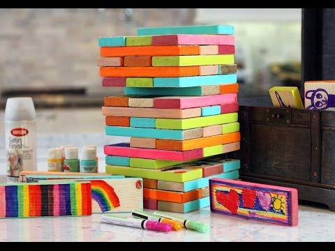 Lilyshop How To Make Giant Jenga Blocks