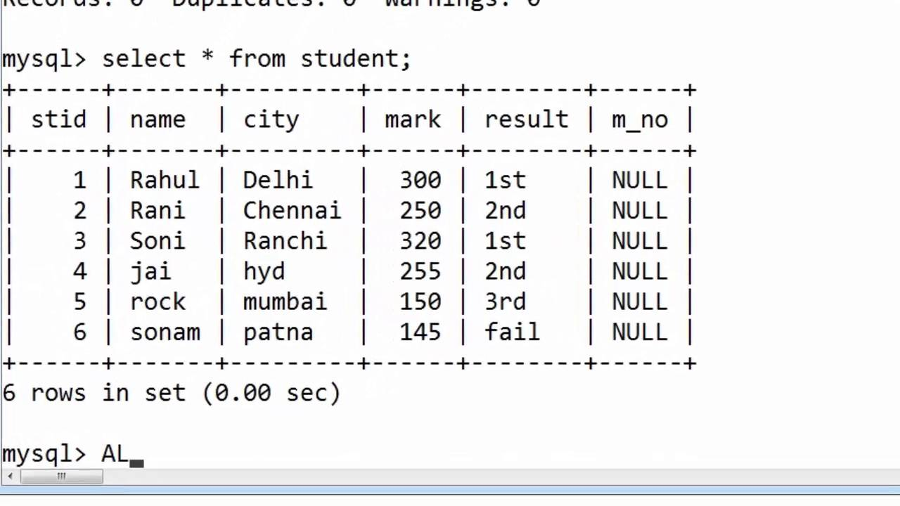 57 Alter Table For Adding Multiple Columns Without Constraints In Sql Hindi