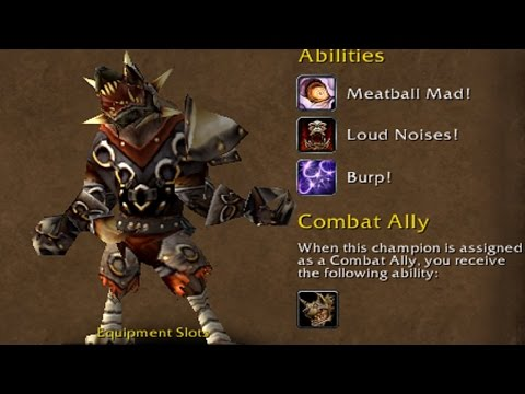 The Most POWERFUL HIDDEN Order Hall CHAMPION - All Classes - Why did no one talk about this guy???