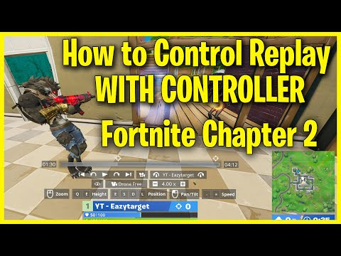 Fortnite Console Replay Controls