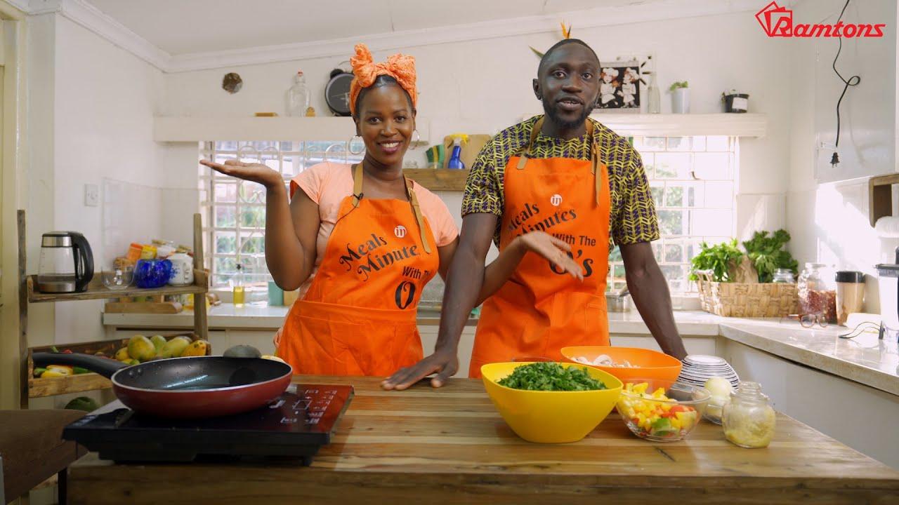 Ugali, Sukuma the Vegan Way with a Twist - YouTube