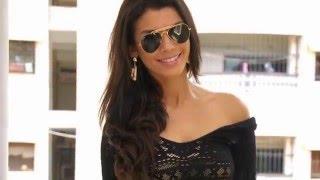 Gabriela Bertante Super Hot Photoshoot in Black Short Skirt