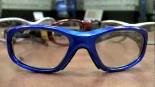 Safety glasses for sports