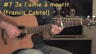 10 classiques francophones (guitare acoustique)