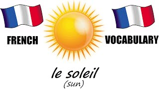 French Lesson 7 - WEATHER Vocabulary - Learn French - The French Minute