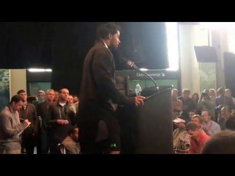 NFL Combine Update Robert Nkemdiche Fielding Tough Questions Arrest Attitude Readiness #NFLCombine