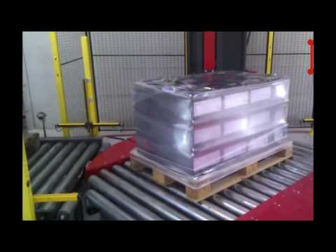 Turntable stretch wrapper and pallet packing machine