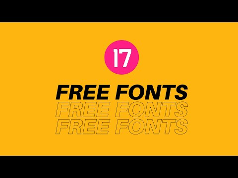 17 Fonts To Improve Your Designs *FREE DOWNLOADS*