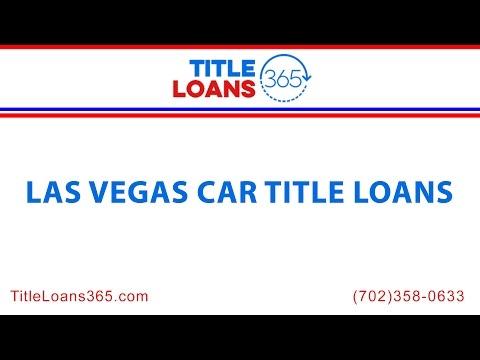 Las Vegas Car Title Loans | Title Loans 365