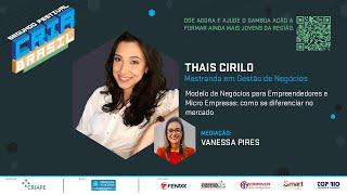 Modelo de Negócios para Empreendedores e Micro Empresas  -  Segundo Festival Cria Brasil