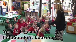 Year 2 Independent Learning classroom observation