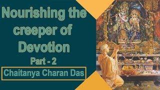 Nourishing the creeper of devotion 2 Regulate devotionally helpful attachment Chaitanya Charan in UK thumbnail
