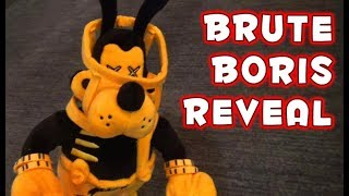 BRUTE BORIS PLUSH! The Bendy and the Ink Machine Series 3 REVEAL