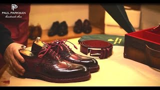 Handmade Shoes for Men,  How to Make Goodyear Welted Shoes by Paul Parkman