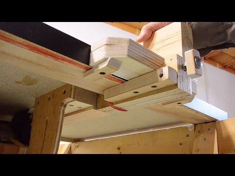 Homemade Table Saw 2 Fence Youtube