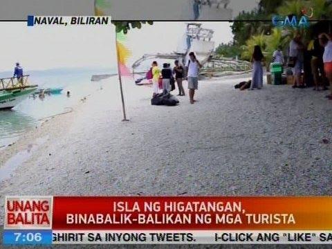 UB: Isla ng Higatangan sa Naval, Biliran, binabalik-balikan ng mga turista