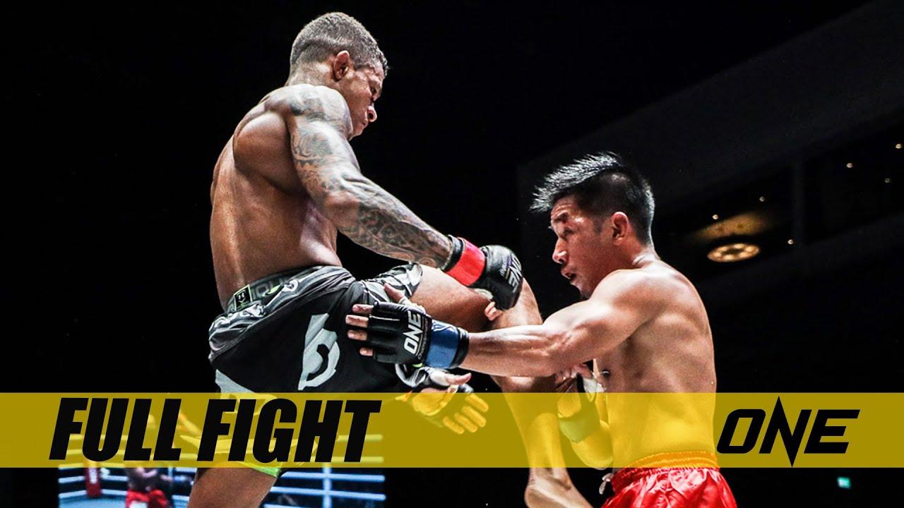 Geje Eustaquio vs. Adriano Moraes II   Full Fight Replay