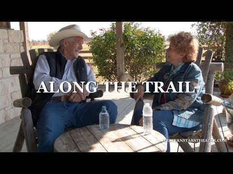 Robert Fuller Along The Trail with Cheryl Rogers Barnett Short  about dancing