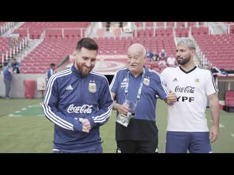 #SelecciónMayor Último entrenamiento de cara al partido con Qatar. ¡Vamos Argentina!