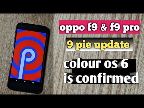 new android pie update for oppo f9 & f9 pro !!!