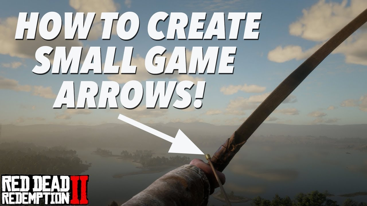 How to get SMALL GAME ARROWS! (RDR2) - YouTube