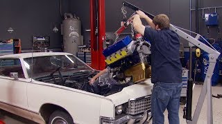 Putting A 1,100 HP Big Block Into A '72 Mercury Marquis - Detroit Muscle S3, E8