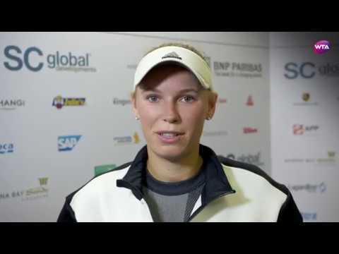 My Performance   Caroline Wozniacki defeats Elina Svitolina   2017 WTA Finals Singapore