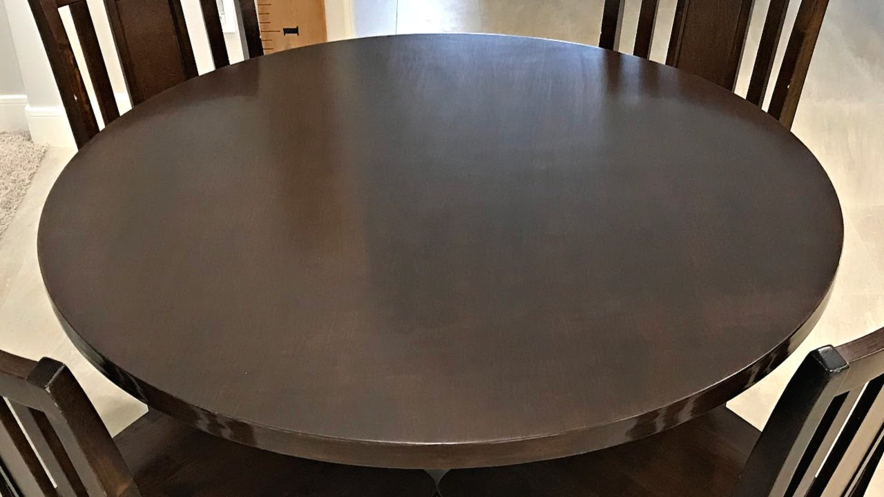 easy diy round table top from plywood circles cut with a router