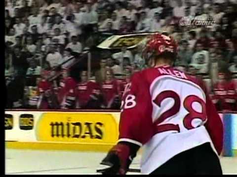 1999 World Junior Gold Medal Game Canada VS Russia AT WINNIPEG ARENA Part 10 / 10