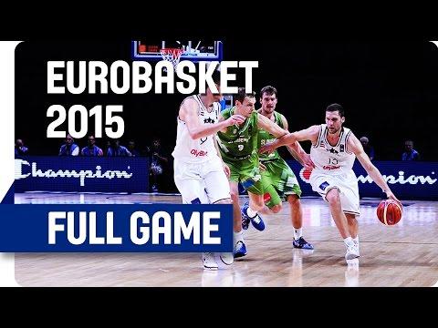 Latvia v Slovenia - Round of 16 - Full Game - Eurobasket 2015