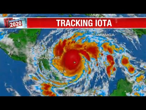 Live: Tracking Hurricane Iota | NBC News