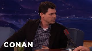 Max Brooks Kept His Minecraft Novel A Secret From His Son  - CONAN on TBS