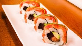 Salmon And Tuna Sushi Roll - Royal Sushi Roll