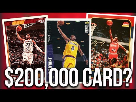15 Most Expensive Nba Basketball Cards Sold Youtube