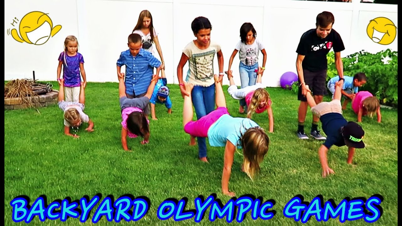 backyard olympic games youtube