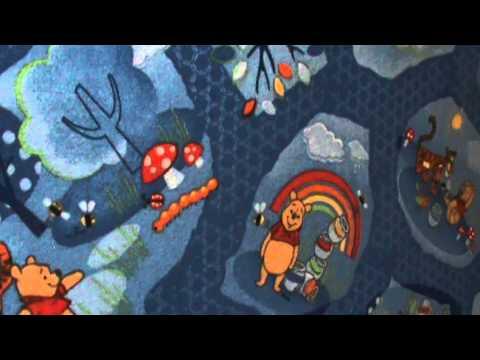 Детские напольные ковры Winnie woodland (детский-ковролин.com.ua)
