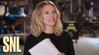 SNL Host Scarlett Johansson Gets in Beck Bennett's Head