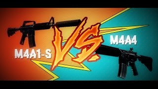 M4A4 ИЛИ M4A1 S  ЧТО ЛУЧШЕ  CSGO