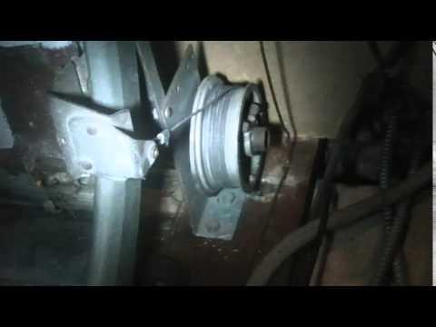 12 23 Fixing Garage Door Cables Youtube
