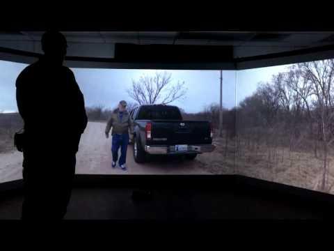Virtual reality security training at Kirtland Air Base