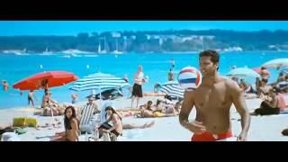 Bathing at Cannes - Song - Engyuem Kadhal -directed by Prabhu Deva