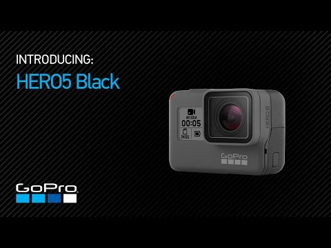 "Be the ""Pro"" in GoPro with these new products - GoPro Hero 5 Black"