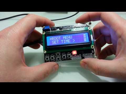 Arduino LCD Keypad Shield с Aliexpress и скетч для него с системой меню