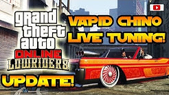 Grand Theft Auto 5 Online - Vapid Chino Live Tuning Mit Enrico Italia! [Lowriders Update]
